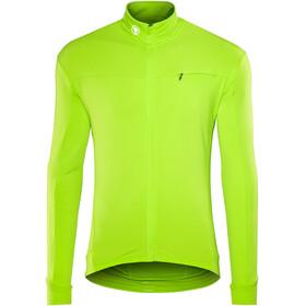 Endura Xtract Roubaix Longsleeve Jersey Men, hi-viz green